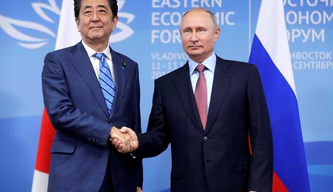 Putin'den Abe'ye: Bu yıl bitmeden bir barış anlaşması imzalayalım