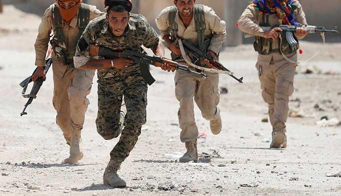 'Suriyeli Kürtler, Fırat'ın doğusunda IŞİD kontrolündeki Hacin'e operasyon başlattı'