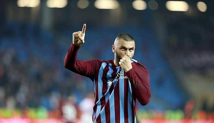 Trabzonspor'dan Burak Yılmaz açıklaması: 4 aylık alacağı ödendi