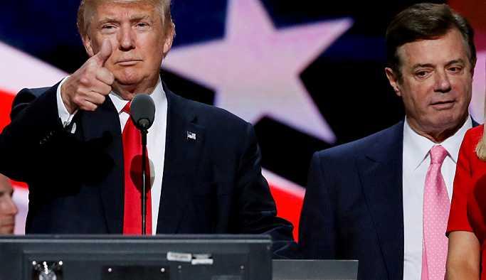 Trump'ın eski kampanya danışmanı Manafort, 'ABD'ye karşı komplo kurma' suçlamasını kabul etti