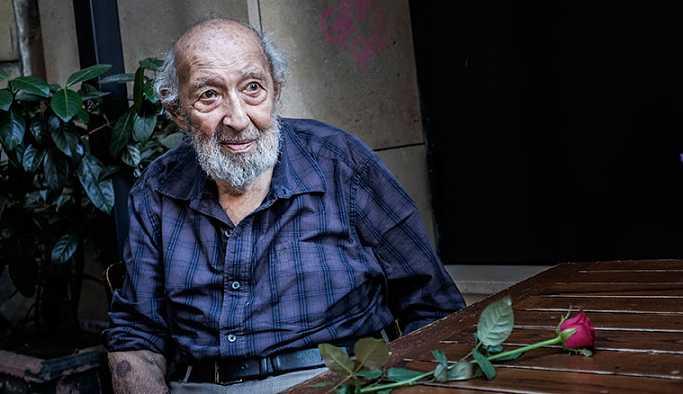 Ara Güler'in cenazesi Beyoğlu'ndaki kiliseye götürüldü