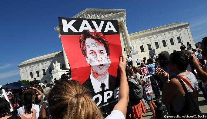 Washington'da Kavanaugh protestosu