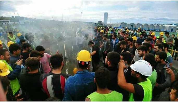 3'üncü Havalimanı işçilerinin iddianamesi hazırlandı
