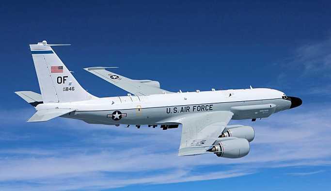 'ABD'ye ait uçak Karadeniz'de Kırım'a doğru hareket ederken görüldü'