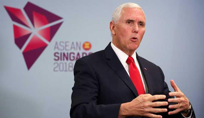ABD Başkan Yardımcısı Pence: Çin yayılmacı ve saldırgan, biz ise işbirliği arıyoruz