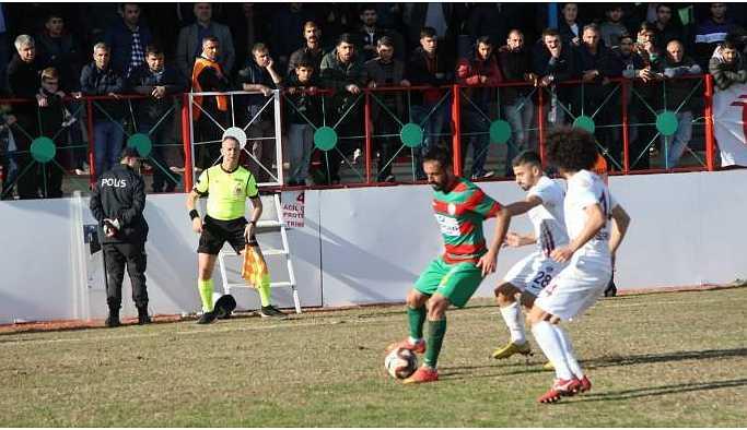 Amedspor kendi sahasında 1-0 yenildi