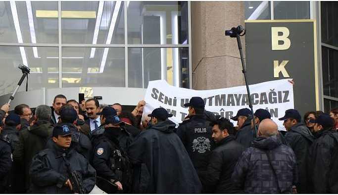 Ankara'da Elçi anmasına izin verilmedi