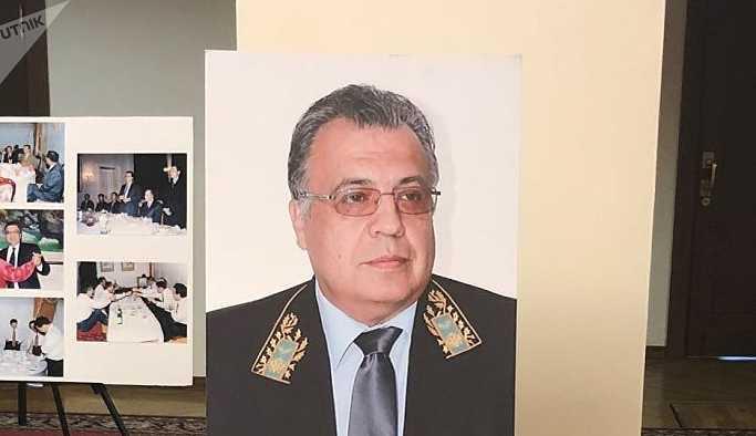 Antalya'da Büyükelçi Karlov'un anısına sergi açıldı