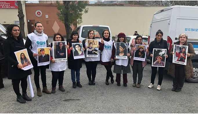 Bakırköy Cezaevi önünden gazetecilerin duruşmalarına çağrı