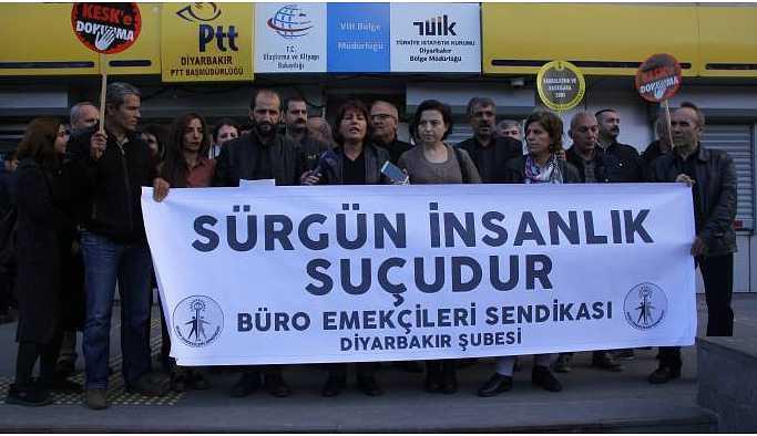 BES: Diyarbakır'dan bir üyemiz Zonguldak'a sürgün edildi