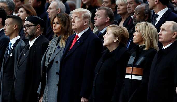 Beyaz Saray: Trump, Putin ve diğer liderlerle verimli bir görüşme gerçekleştirdi