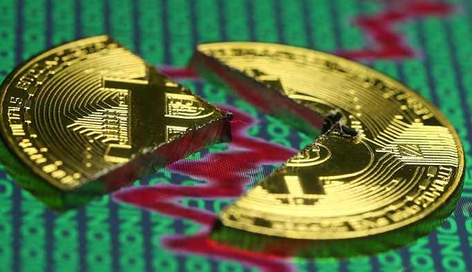 Bitcoin 2017'den beri ilk kez kritik seviyenin altında