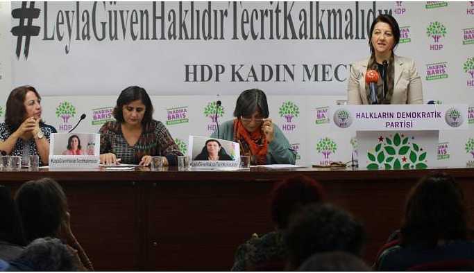 Buldan: Tecridi kadınlarla yıkacağız