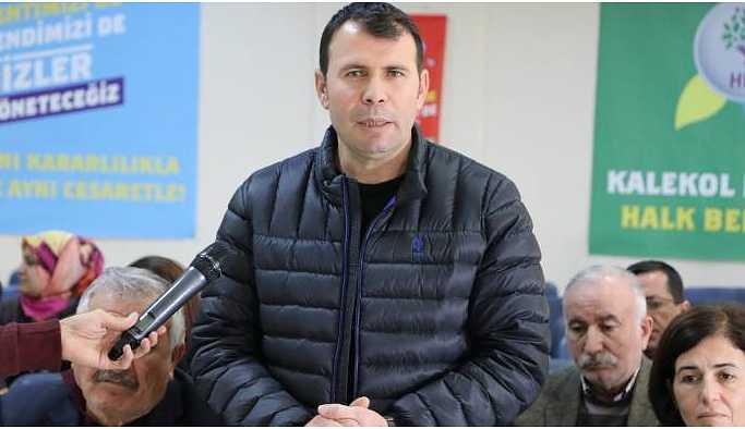DBP Eş Genel Başkanı Arslan: Baskı ve zulüm mücadele gerekçemizdir