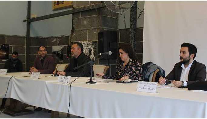 Diyarbakır Baro Evi'nde Tahir Elçi paneli