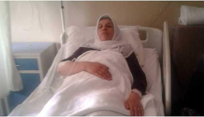 Emine Şenyaşar hastaneye kaldırıldı