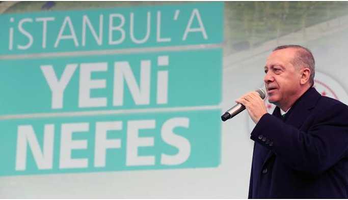 Erdoğan: Gerçek çevrecilik nedir görsünler
