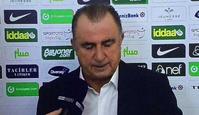 Fatih Terim: Bundan böyle her maç sonrası hakem konuşacağım