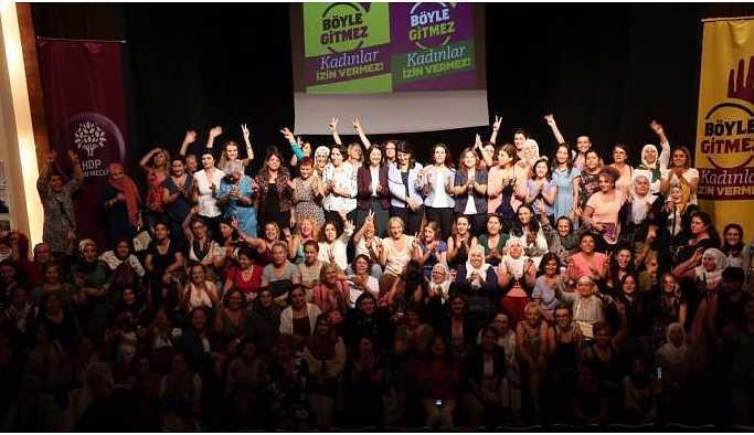 HDP Kadın Meclisi'nden Soylu'ya: Korkmuyoruz, susmuyoruz
