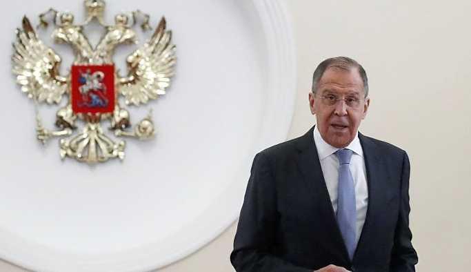 Lavrov: ABD'nin İran'a yaptırımları tamamen gayrimeşru