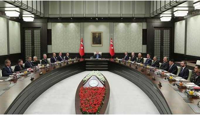 MGK Toplantısı başladı
