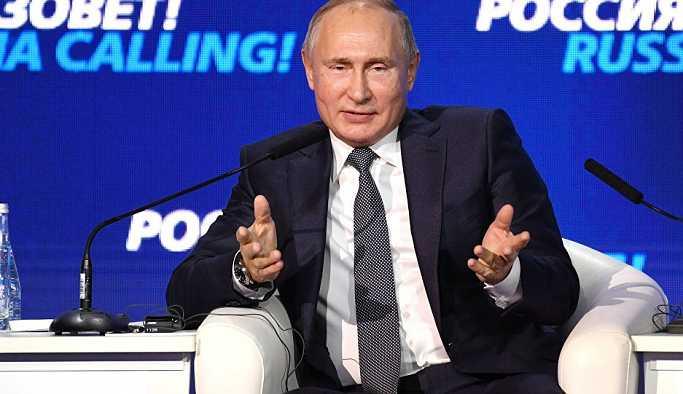Putin: Moskova'nın en büyük turistik cazibesi değilim