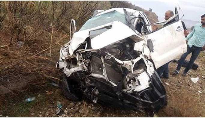 Rudaw ekibi kaza geçirdi: 3 yaralı