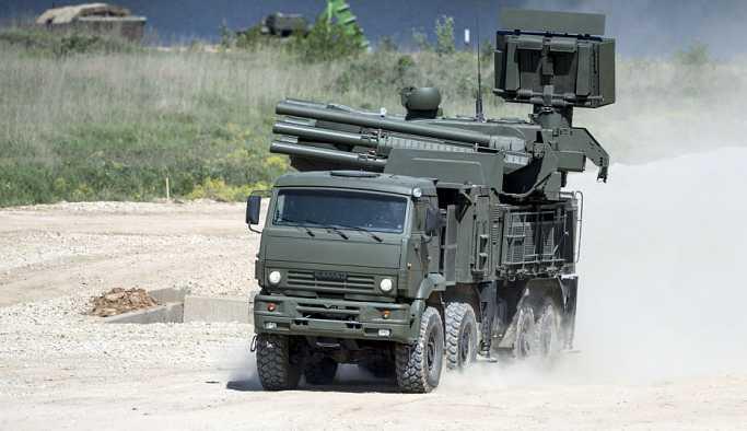 Rusya, Kırım'a S-400'ün ardından Pantsir-S hava savunma kompleksleri konuşlandırdı