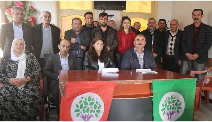 Şemdinli ve Yüksekova'dan Leyla Güven'e destek