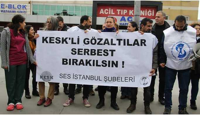 SES'ten gözaltılara tepki: Barış talebi suç sayılamaz