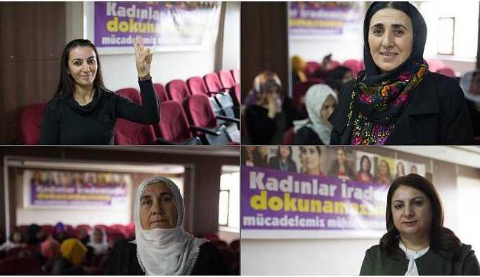 'Siirt'te kadınlar üç dilli tabelayı yeniden asacak'