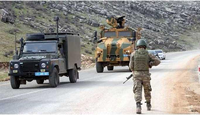 Şırnak kırsalında askeri hareketlilik