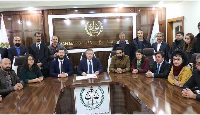 Van'daki kurumlardan 65 gündür ölüm orucunda olan tutuklular için açıklama