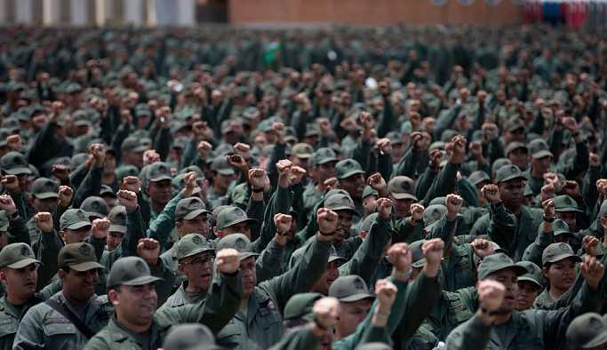 Venezüela ordusuna yönelik saldırı gerçekleştirildi