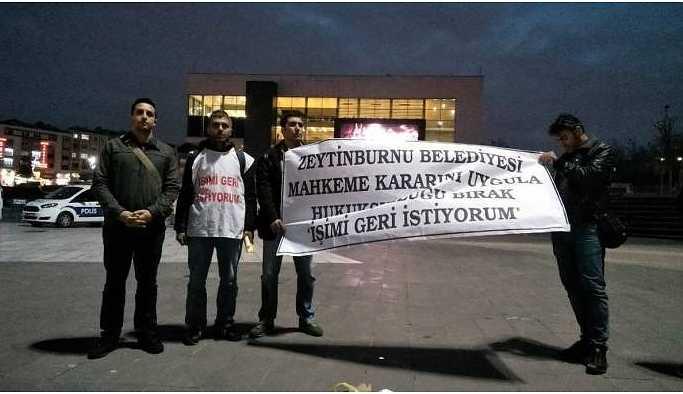 Zeytinburnu Belediyesine karne: Hukuka riayet etmemekten sınıfta kalmıştır