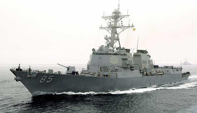 ABD'nin destroyeri Rusya Pasifik Filosu'nun üssüne yaklaştı