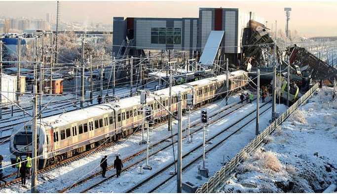 Ankara'daki tren kazası: Gözaltındaki 3 personele tutuklama talebi