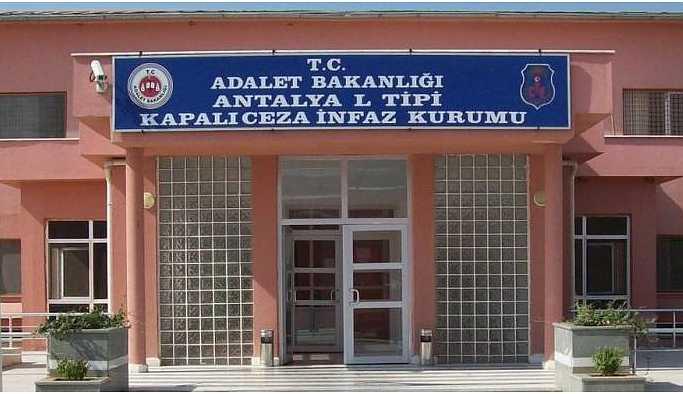 Antalya Cezaevi'nde salgın iddiası