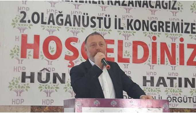 Aydın'da konuşan Temelli: Yolsuzluk hırsızlık ne ararsan bunlarda var