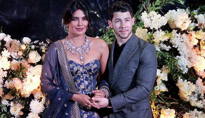Bollywood oyuncusu Priyanka Chopra ve Nick Jonas ikinci kez düğün yaptı