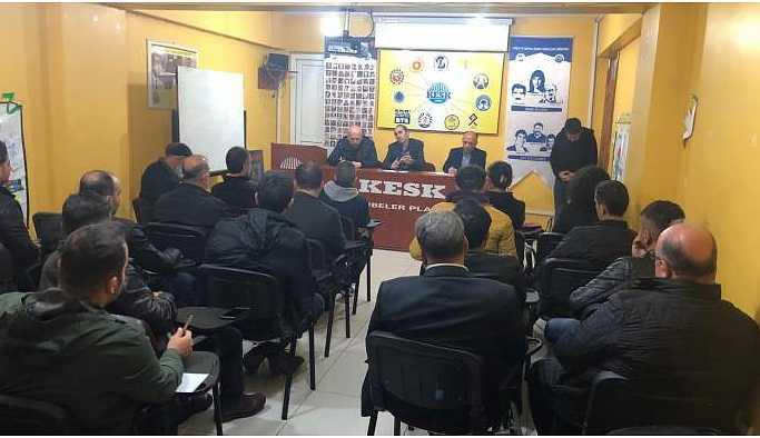 Bozgeyik, miting çalışmalarını Siirt'te sürdürüyor