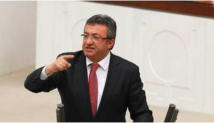 CHP'li Altay: 6 milyon oy almış bir partiyi terörize edemezsiniz