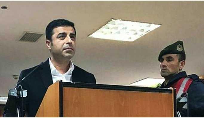 Demirtaş'ın tutukluluğuna devam kararı verildi