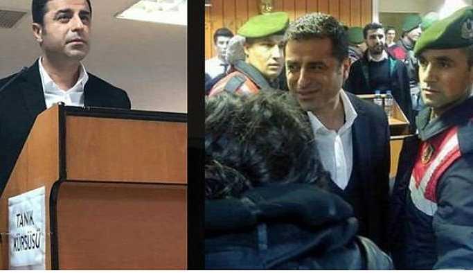 Demirtaş'tan mahkeme heyetine: Husumetimiz netleşmeden savunma yapmayacağım