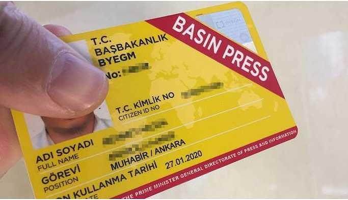 DİSK Basın-İş: Sarı basın kartı gazetecilik ruhsatı değildir