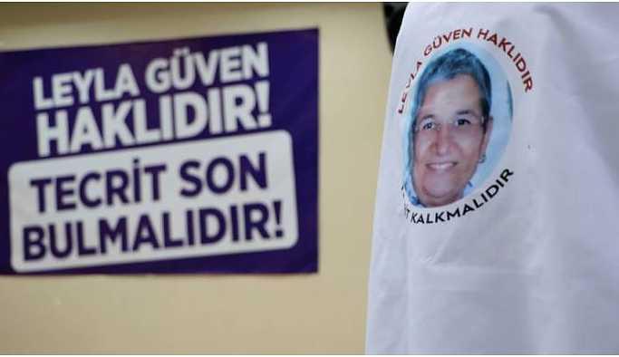 DTK: Leyla Güven'in talebi hayati düzeyde