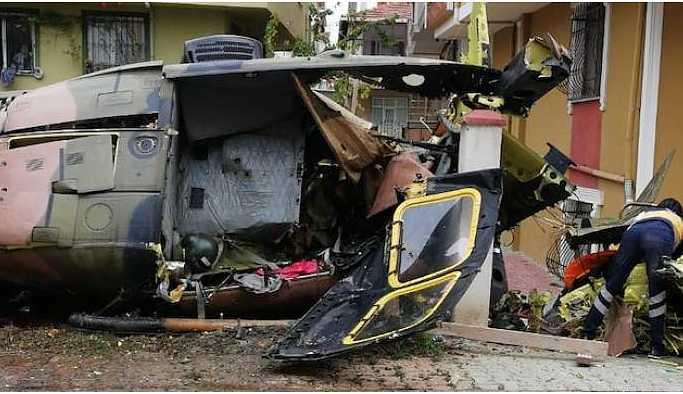 Düşen helikopterdeki asker yaşamını yitirdi