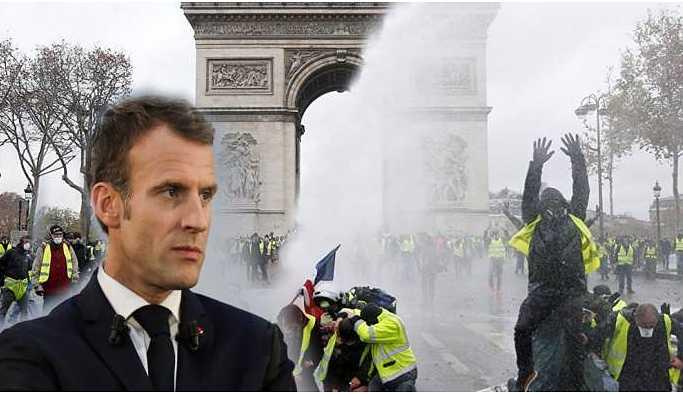 Fransa Cumhurbaşkanı Macron, Sarı Yelekliler ile görüşecek