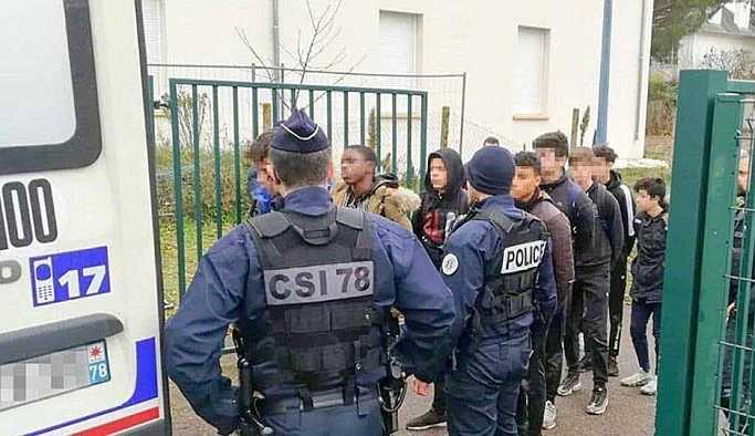 Fransa'da tartışma yaratan gözaltı görüntülerine soruşturma: Paylaşanlar bulunacak