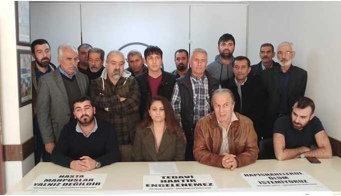 Hasta tutuklu Erhan Demir'e özgürlük istendi
